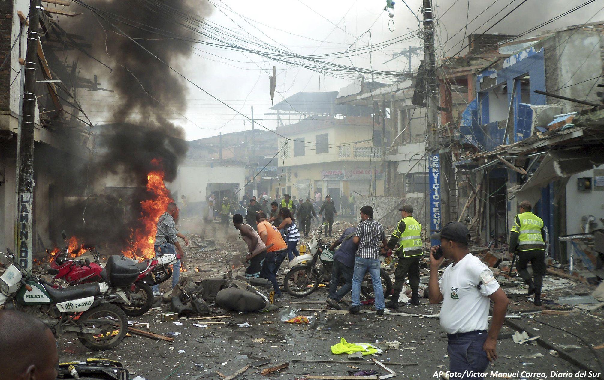 Resultado de imagen para colombia violencia