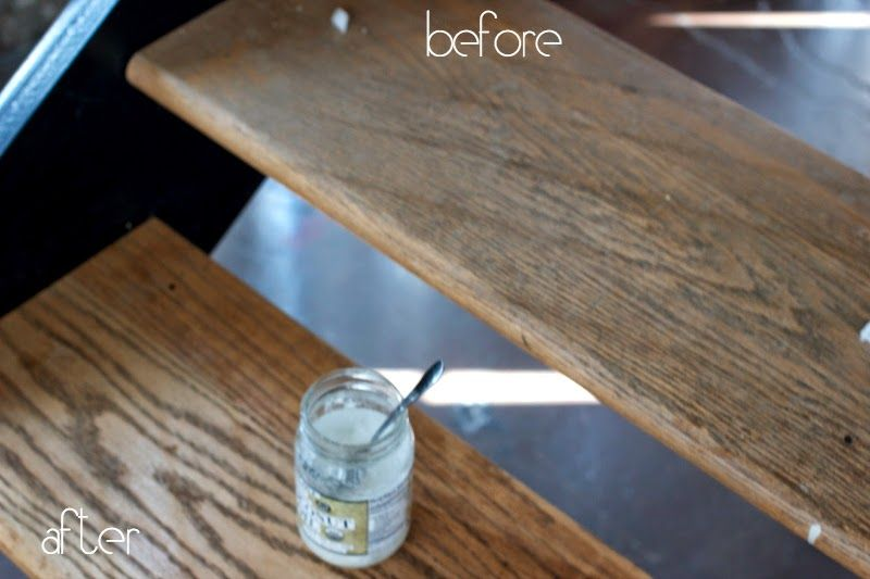 Diy Wood Polish Perfect For Old Hardwood Floors Using Coconut Oil