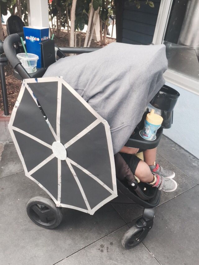 star wars empire fighter stroller decor for mickey s halloween party