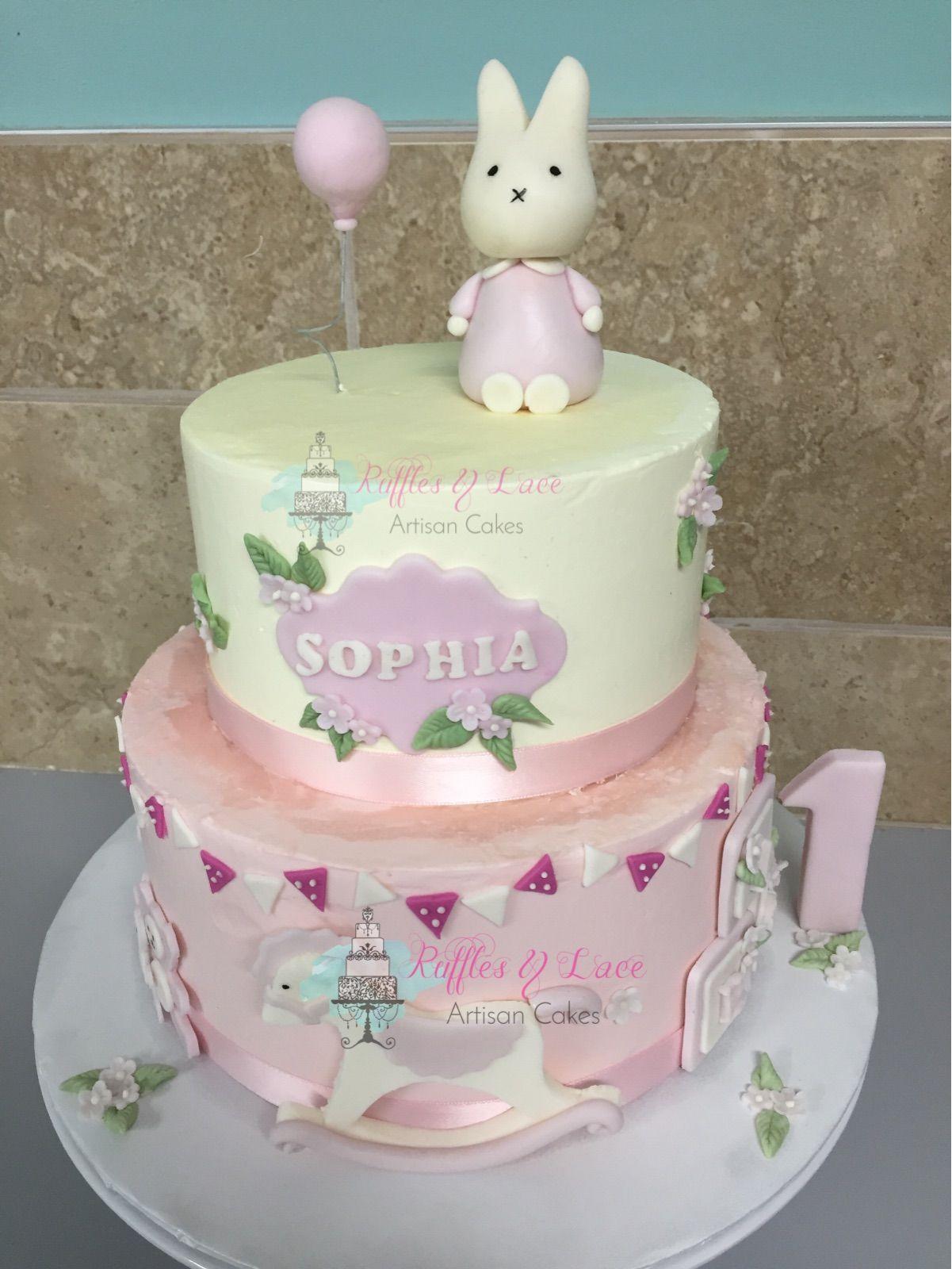 Bunny cakw cake cake lace artisan