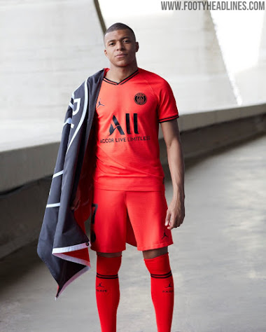 jordan psg 19 20 away kit released