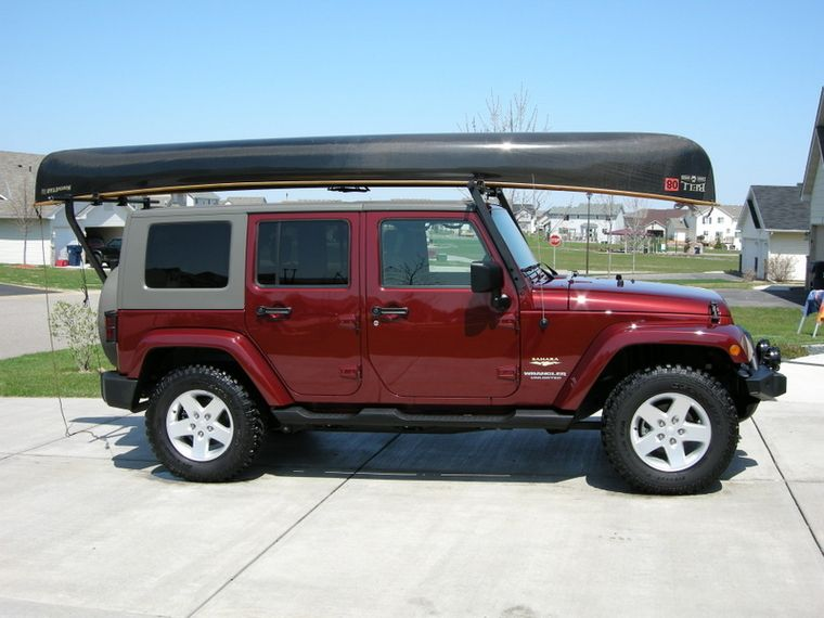 Got My Canoe Rack Done Canoe Rack Canoe Jeep Jk
