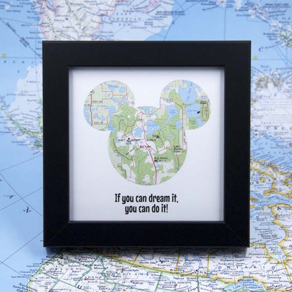 Disney map disney ears mouse ears if you can dream it you can do disney map disney ears mouse ears if you can dream it you can do it disney world map artwork travel map gifts disney nursery art gumiabroncs Images