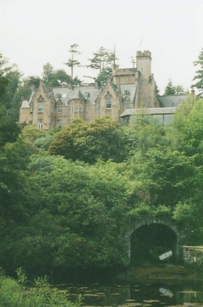 Stonefield Castle in Tarbert, Scotland where I was married. Great tiny fishing village on the west coast.