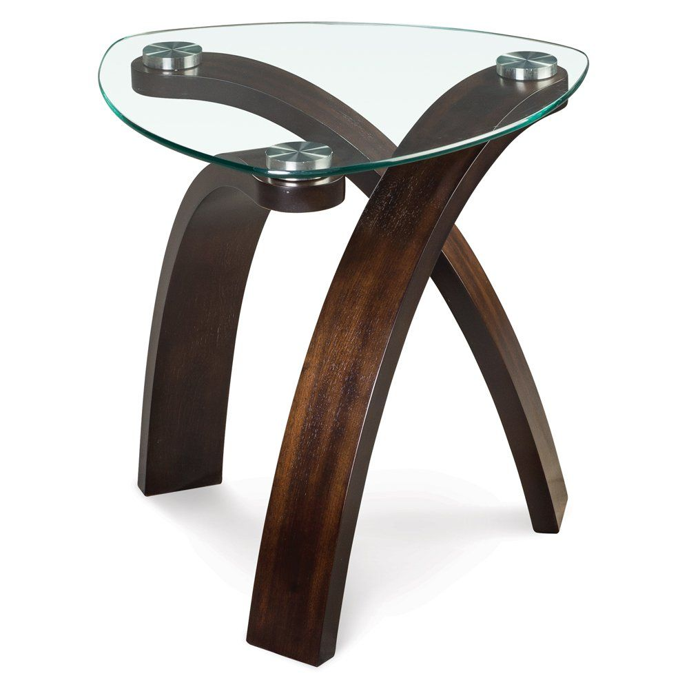 Magnussen Allure Oval End Table Wood Creations Beautiful Wood End Tables