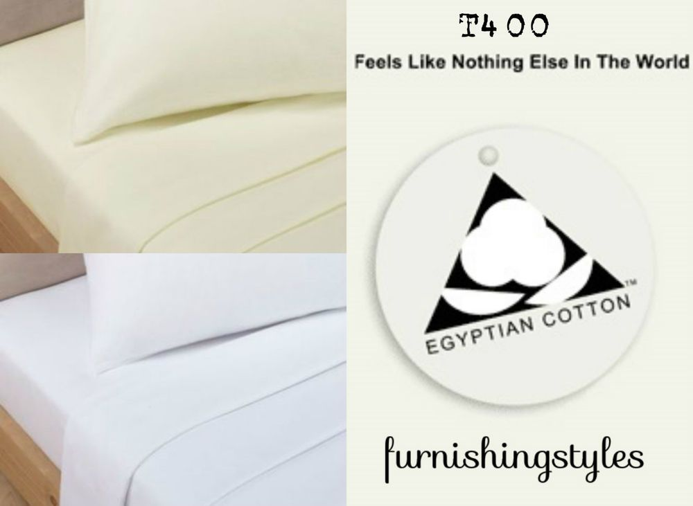 Details About 400tc Luxury Hotel Quality Egyptian Cotton Sateen