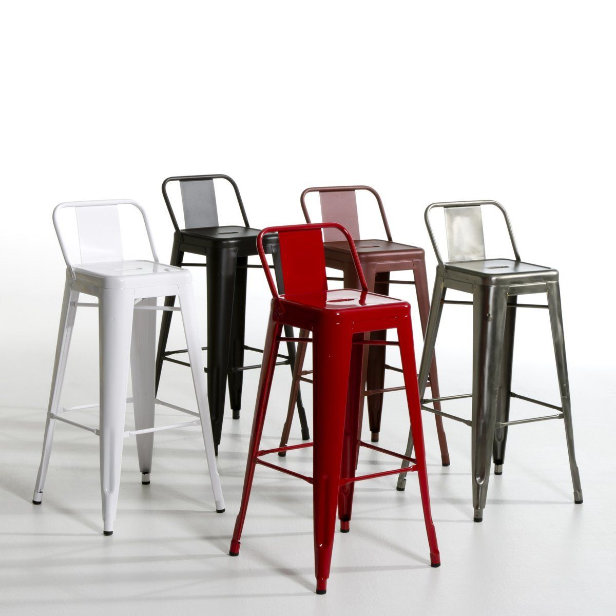 Tabouret Bar Tolix Chaise Haute Tolix Acier Am Pm Future Maison In 2019 Bar