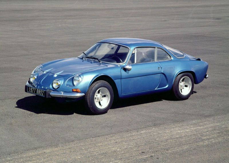 The Reborn Alpine A110 Looks Incredibly Sharp Renault Alpine Renault Classic Cars