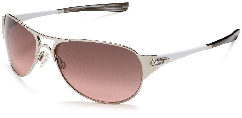Oakley Women's Restless Iridium Sunglasses