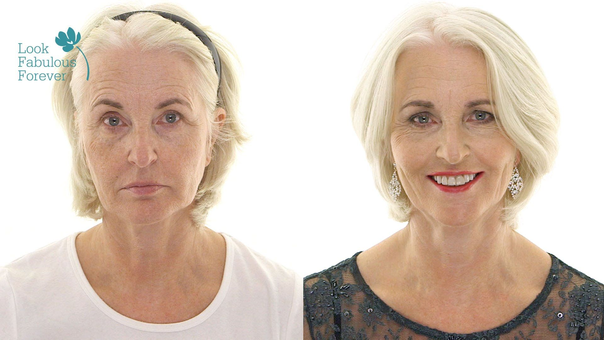 Makeup For Older Women Red Carpet Party Looks By Look Fabulous Forever - SPUNKY SILVER SISTERS ...