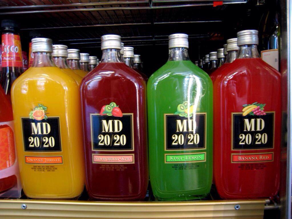 Mad Dog 20 20 Bottle Wine Bottle Alcohol
