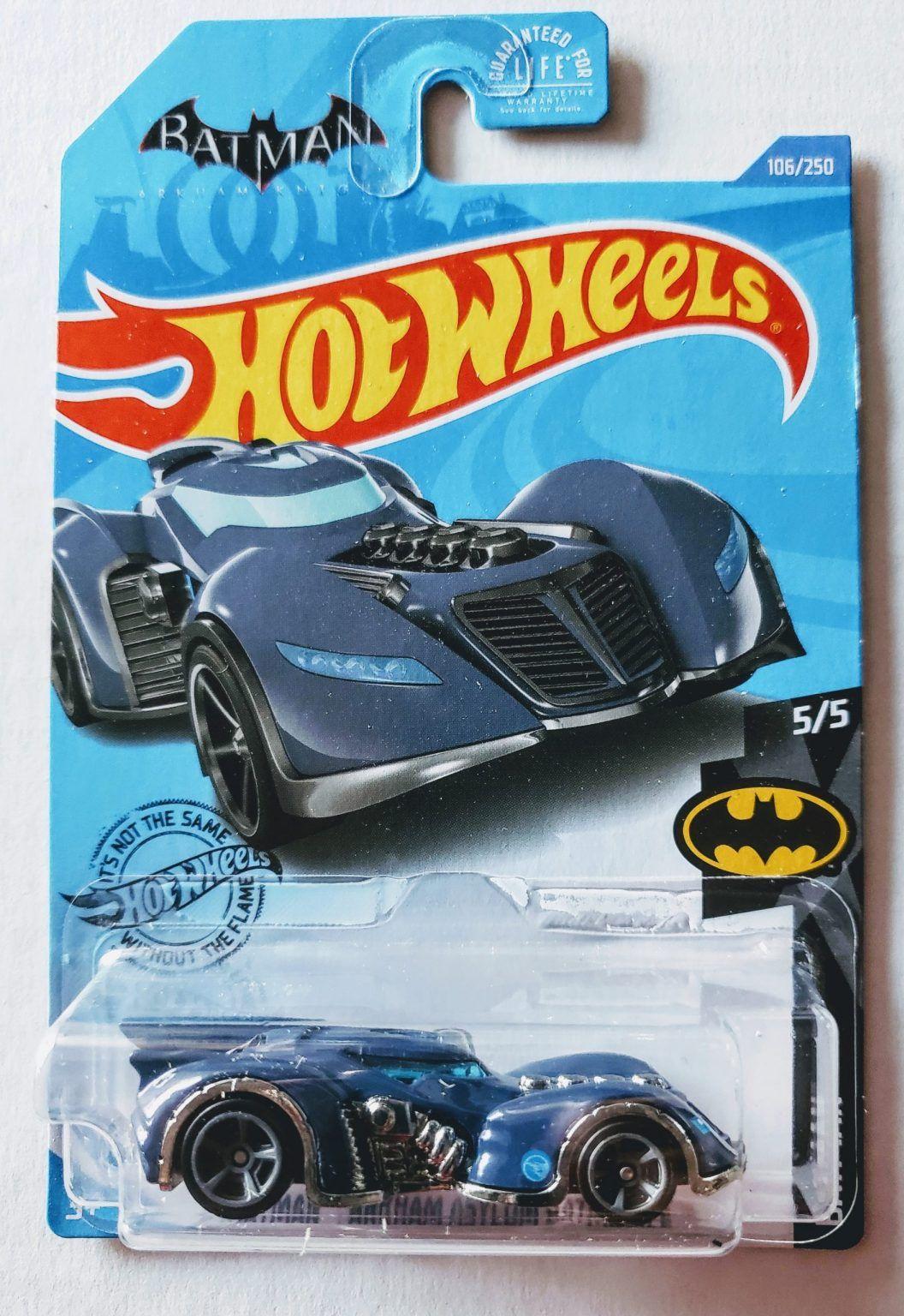 Hotwheels 2020 Batman Series Arkham Asylum Batmobile (Treasure Hunt) VHTF