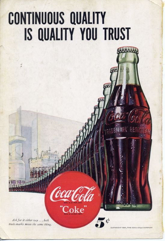 Coca Cola In Bottles na crate large embossed metal sign 400mm x 300mm