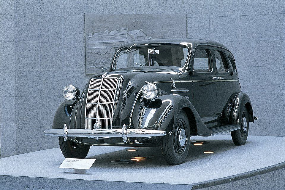 1936 Toyopet (Toyota). I want one of these
