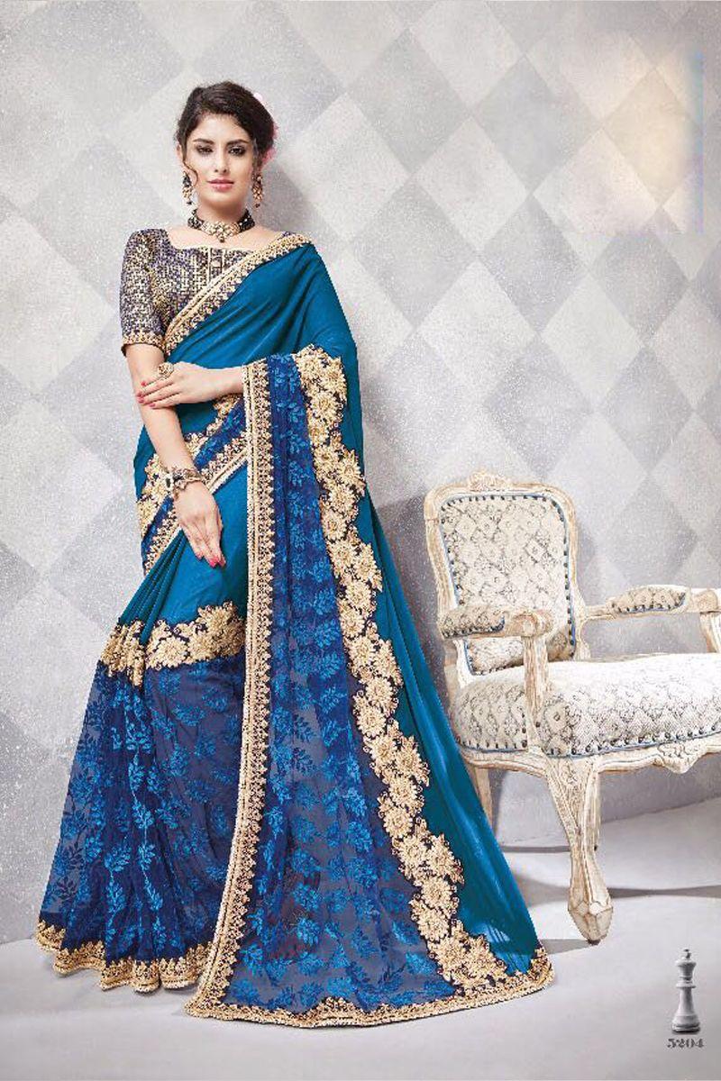c898d8c6d41db Blue-Diwali-2018-Special-Heavy-Work-Anaaira-Hitansh-Saree-Catalog-5204