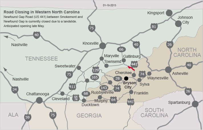 Murphy NC Map