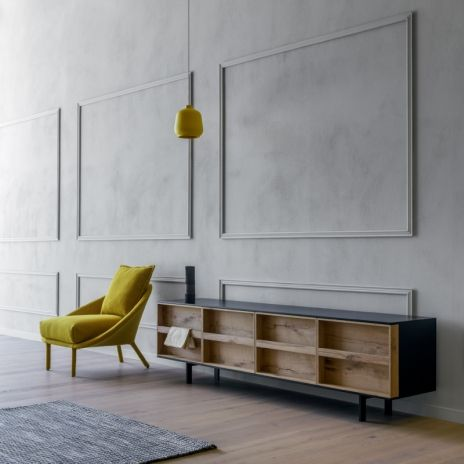 ramblas by e ggs interior miniforms salones pinterest zierleisten wandverkleidung und. Black Bedroom Furniture Sets. Home Design Ideas
