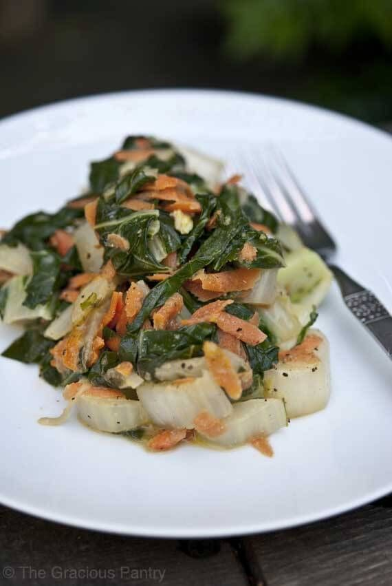 Clean Eating Coconut Bok Choy