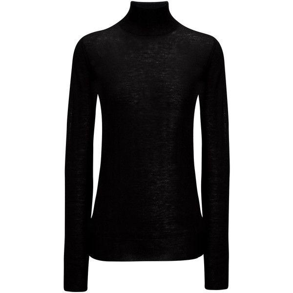 Pin By Iffah Fathin On Style: Joseph Cashair High Neck Sweater (1,560 MYR) Liked On