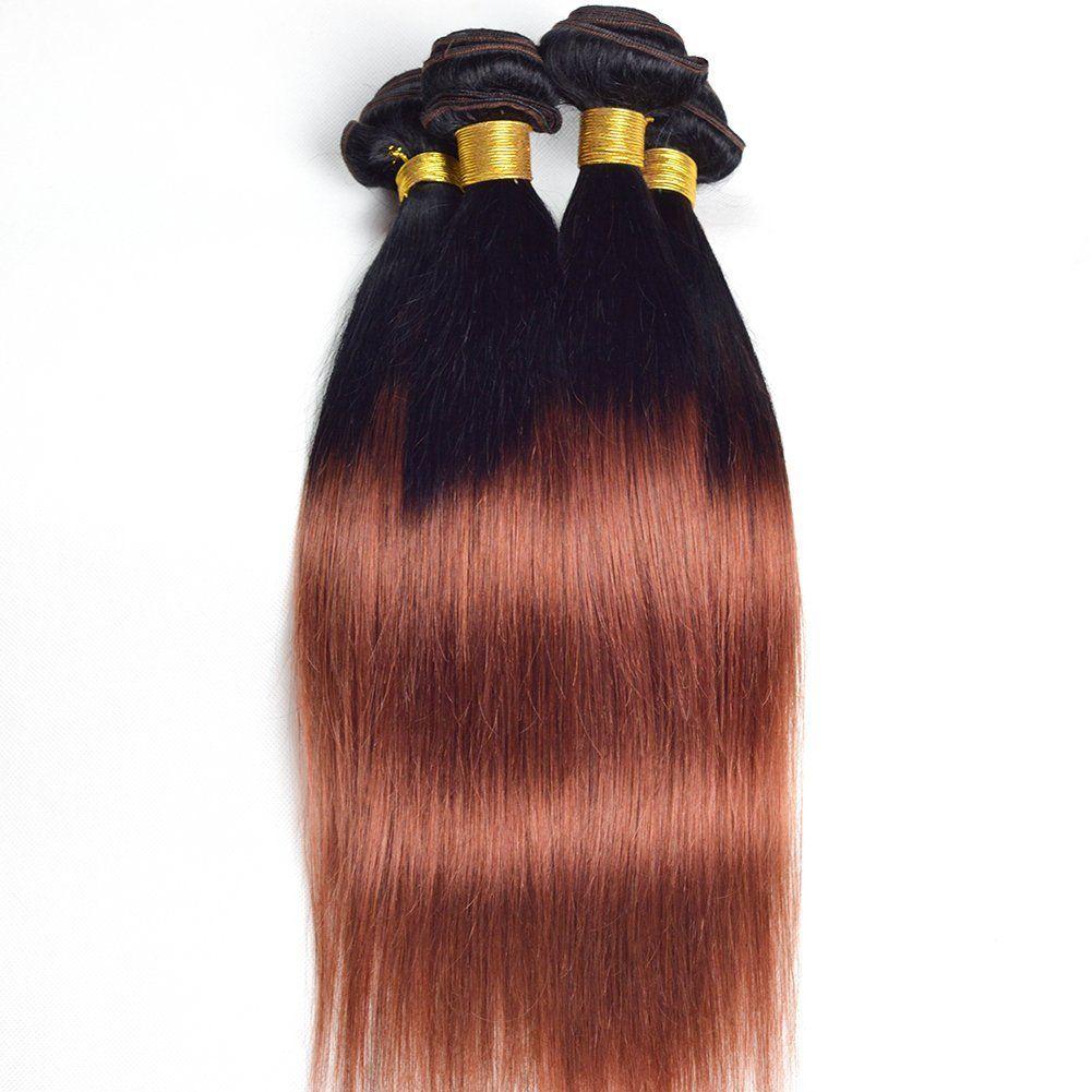Ruiyu a grade brazilian virgin hair bundles straight brazilian