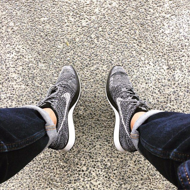 online retailer f93c9 49ddf Add a Multicolor Oreo Rope Laces or a 2TONE Oreo Rope laces to your NIKE  Flyknit Racer Oreo!  slickieslaces  nike  flyknit  oreo  laceswap  shoelaces