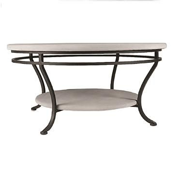 Caribbean Sea Round Double-Tiered Coffee Table