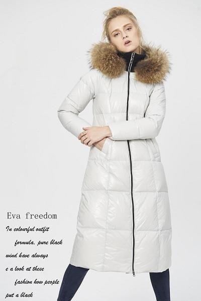 cbf11f04532fe High Quality Canada Luxury 2016 Winter Women Warm Thick Duck Down Parkas  Fashion Genuine Raccoon Fur