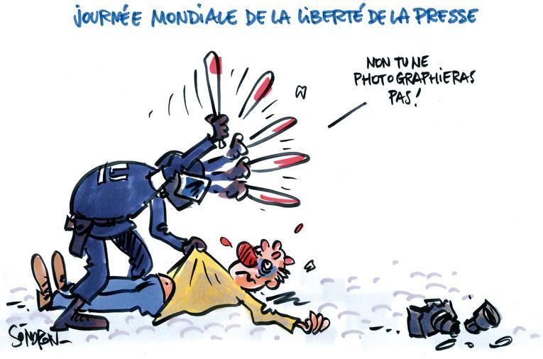 Climat Tendu En France Pour La Journee De La Liberte De La Presse