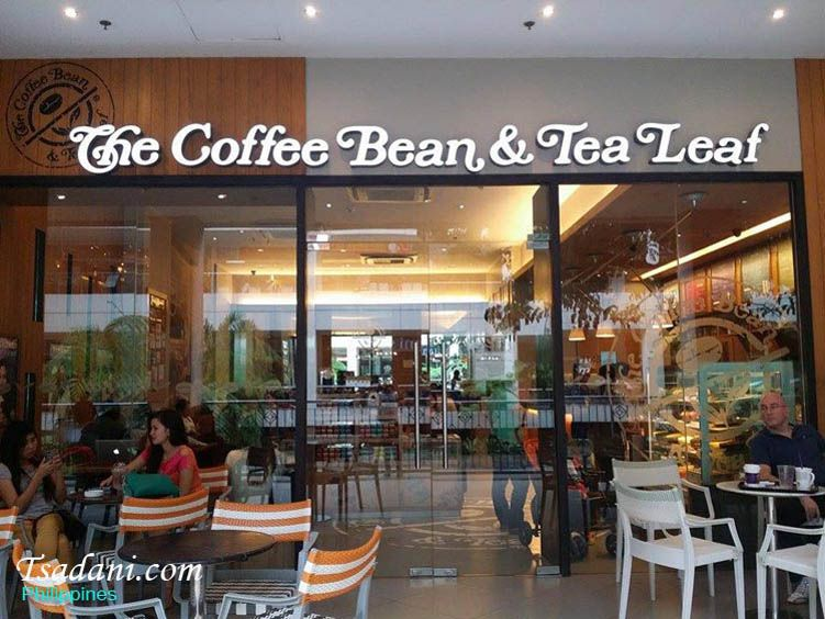 The Coffee Bean Tea Leaf At Centrio Mall Coffee Beans Tea Leaves Beans