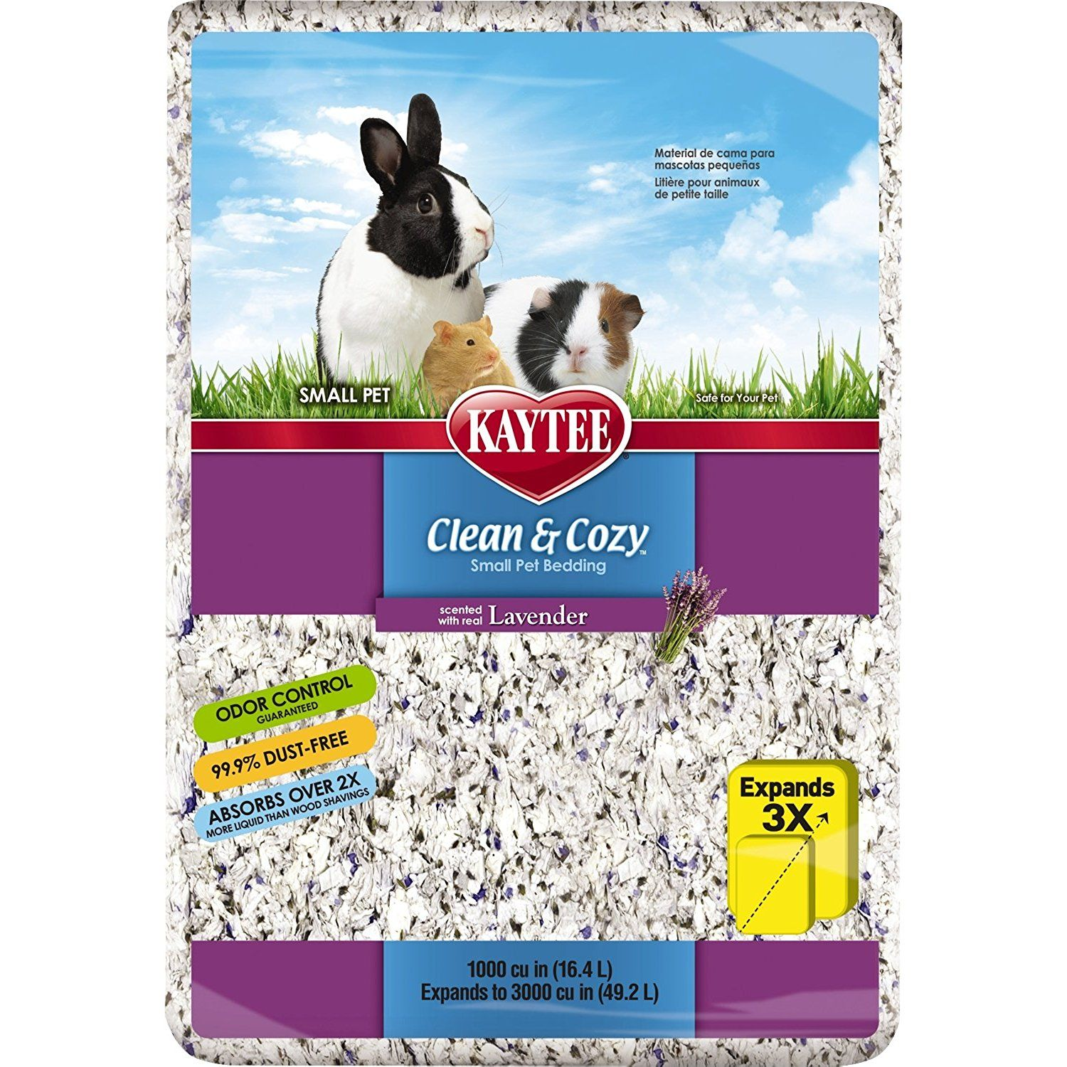 Kaytee Clean and Cozy Small Animal Bedding >>> Read more