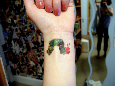 Eric Carle Caterpillar Caterpillar Tattoo Teacher Tattoos Tattoos