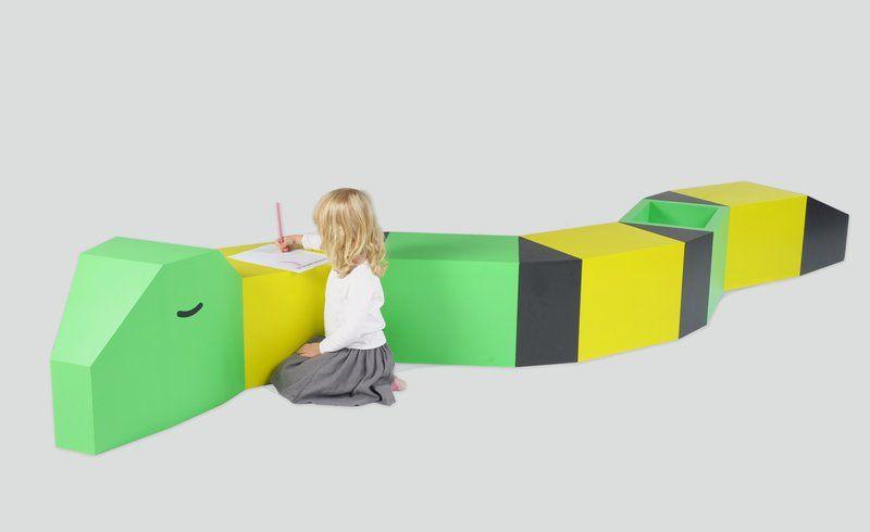 Snake Fun Kids Drawing Tables In Animal Shape