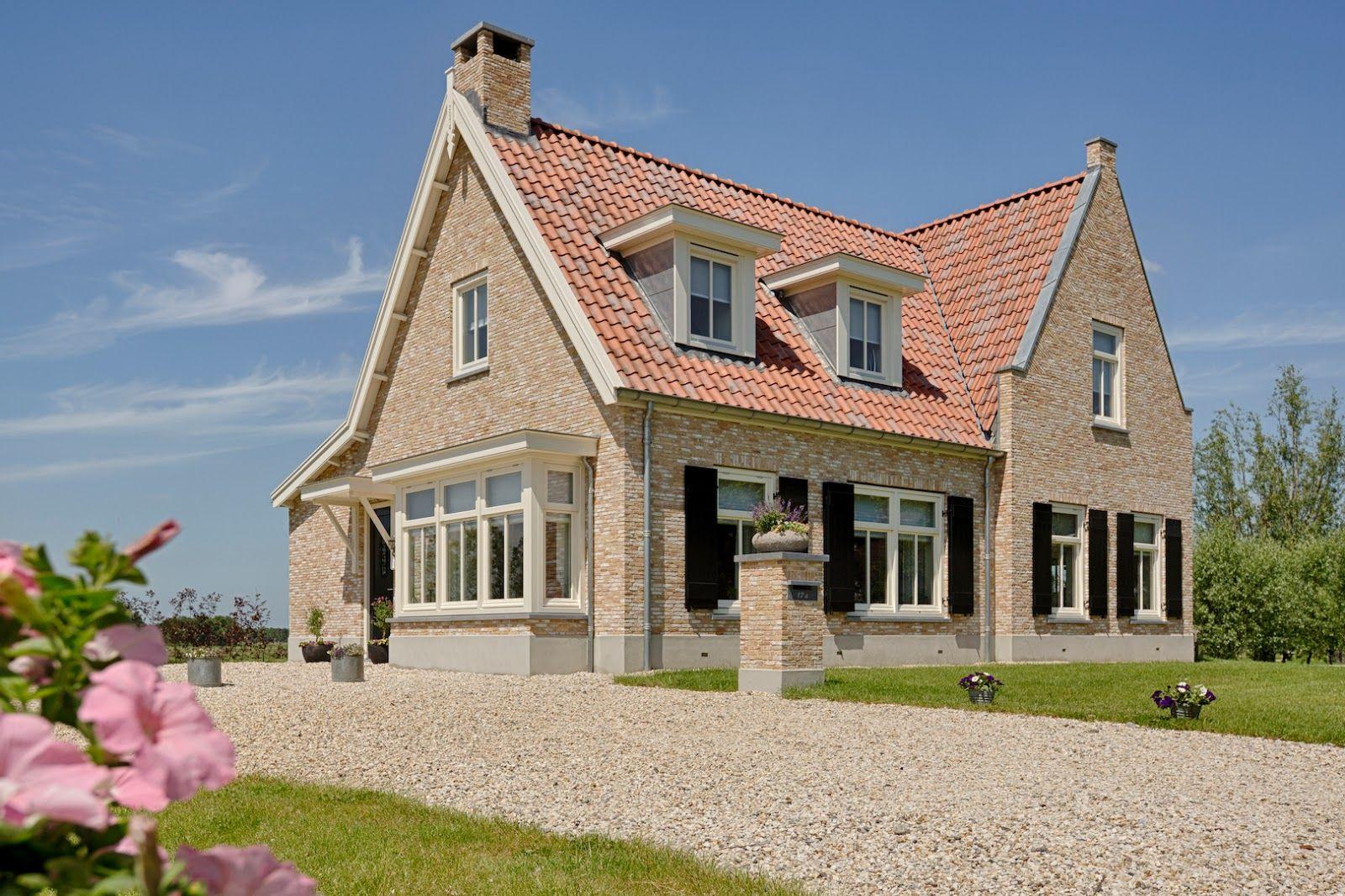 Afbeeldingsresultaat voor landelijke woning nieuwbouw for Kleine huizen bouwen