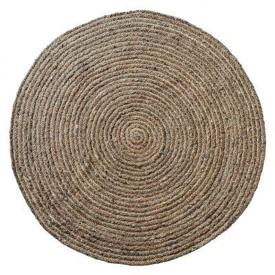 LENE BJERRE Läufer moss grey round bei Villatmode VILLATMO - designer einrichtung accessoires