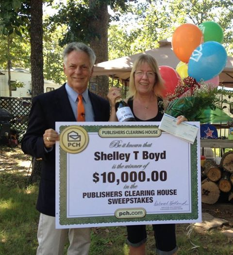 Join us congratulating Shelley Boyd from Red Oak Texas who won