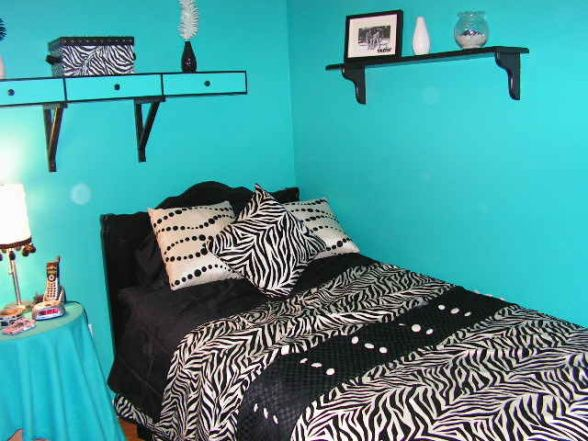 Zebra Bedroom Ideas | Teen Zebra Bedroom, , Bedrooms Design