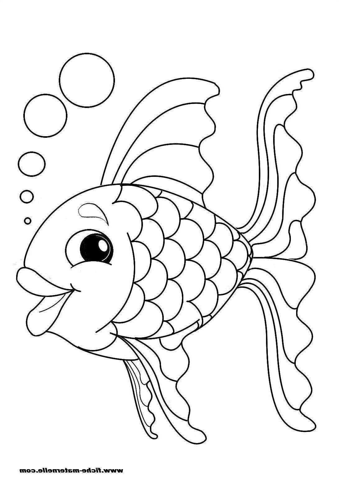 11 Divers Coloriage Poisson Facile Stock Coloriage Poisson