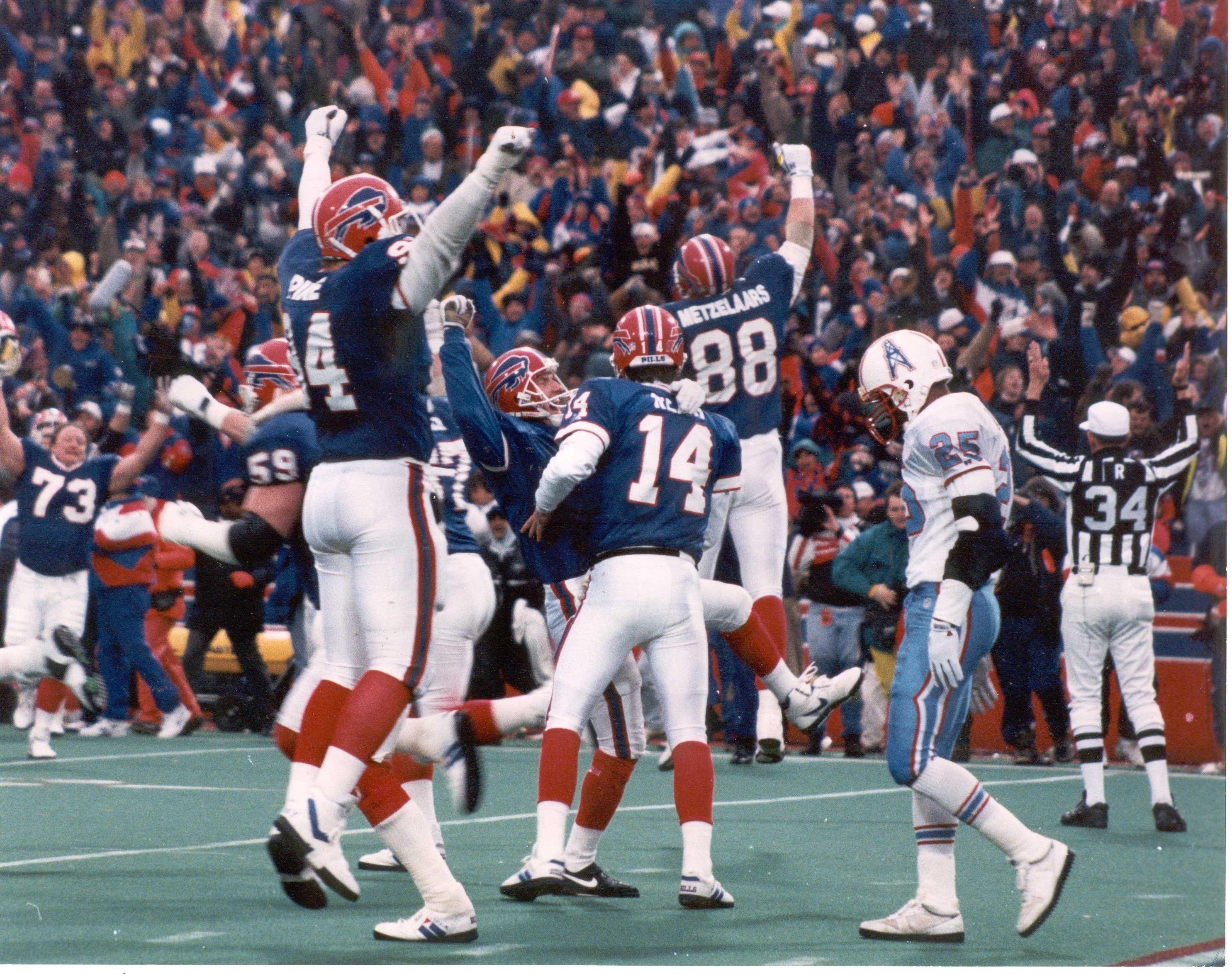 The Comeback Game Bills vs Oilers 1/3/93 Buffalo bills