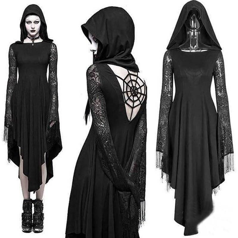 Ladies Gothic #Halloween Scary Bride Or Widow Costumes Horror Fancy Dress Party