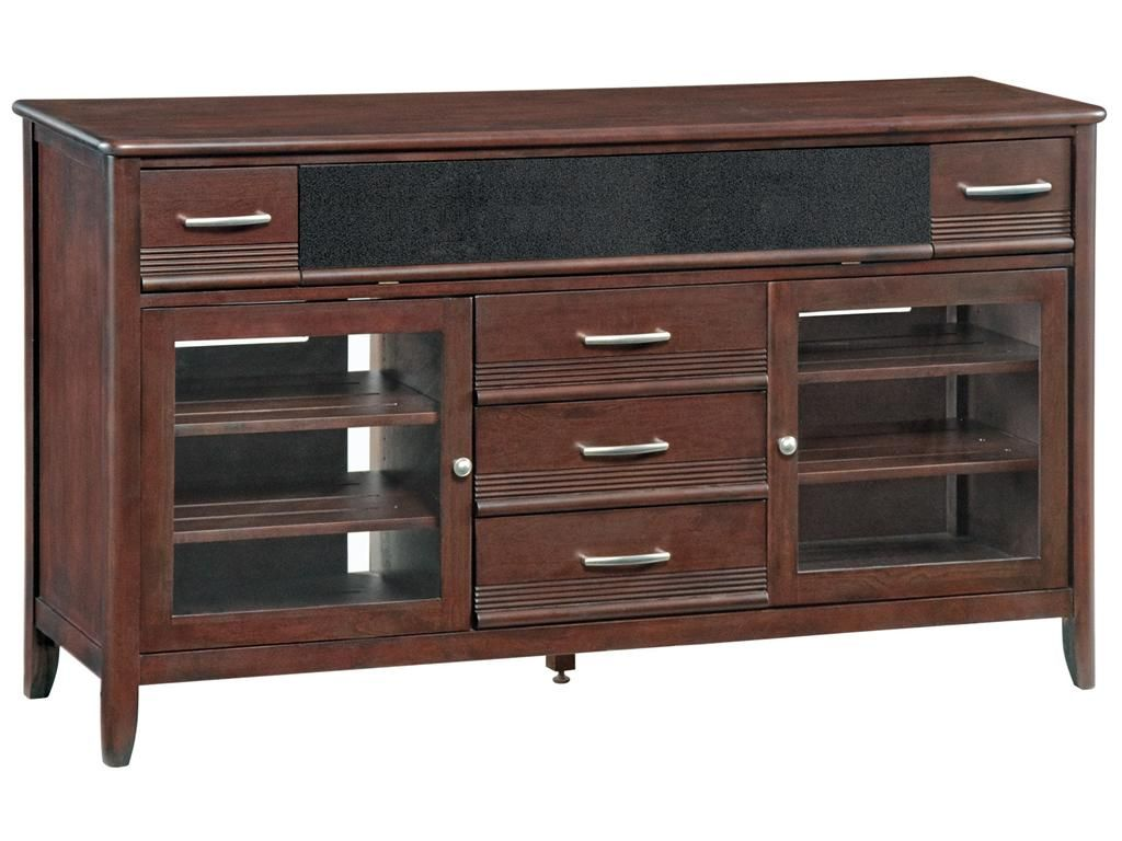 Gorgeous Media Console Created By Whittier Furniture