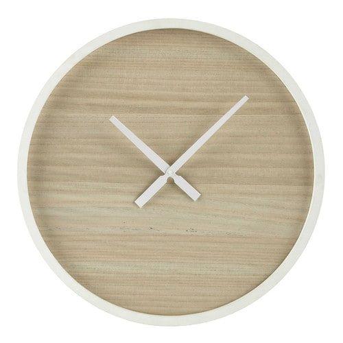 Houten klok, diameter 60 cm, OSLO - Let the good times roll ...