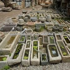 Image result for stone trough planter