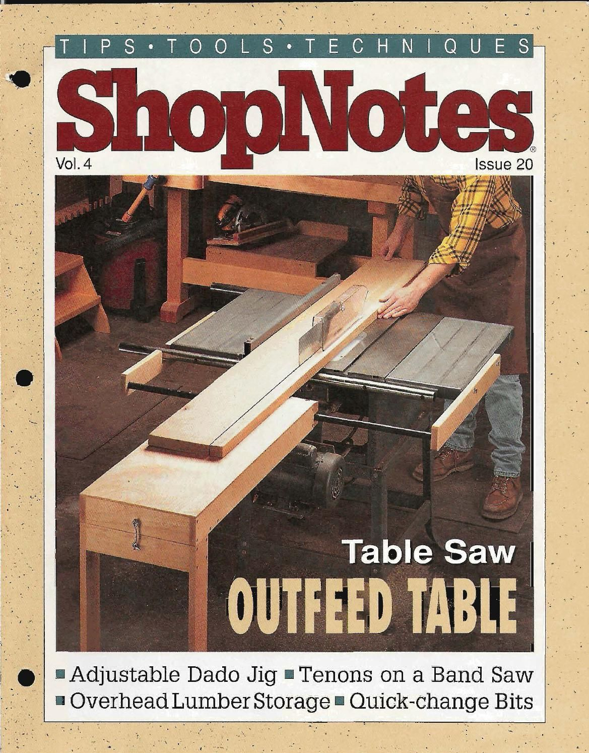 Shopnotes issue 20 woodworking note and wood working shopnotes issue 20 by adrian kuney greentooth Choice Image