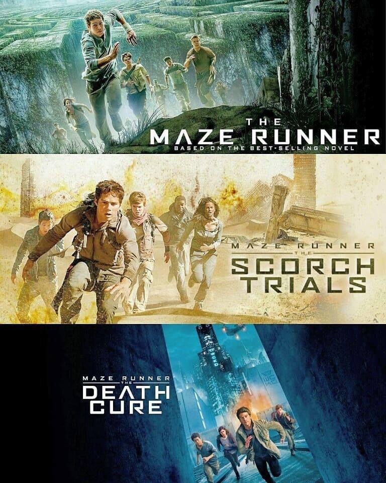 Maze Runner Trilogie