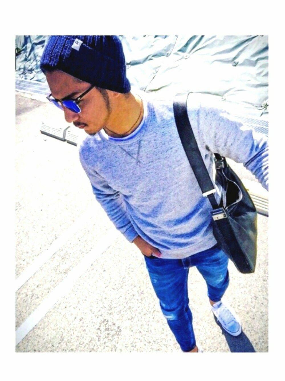 Yusuke Ron Hermanのニットキャップ ビーニーを使ったコーディネート Wear メンズファッション カジュアルファッション メンズ ロンハーマン メンズ