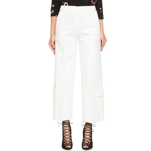 Wide Leg Pants Spring/summer Msgm Release Dates Cheap Price Outlet Locations Cheap Price Cheap Authentic Cheap Largest Supplier jFTYef