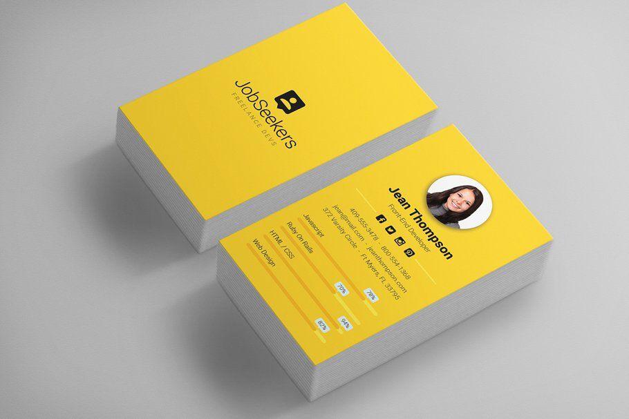 Modern Material Design Business Card Business Card Dimensions Business Card Design Business Card Photoshop