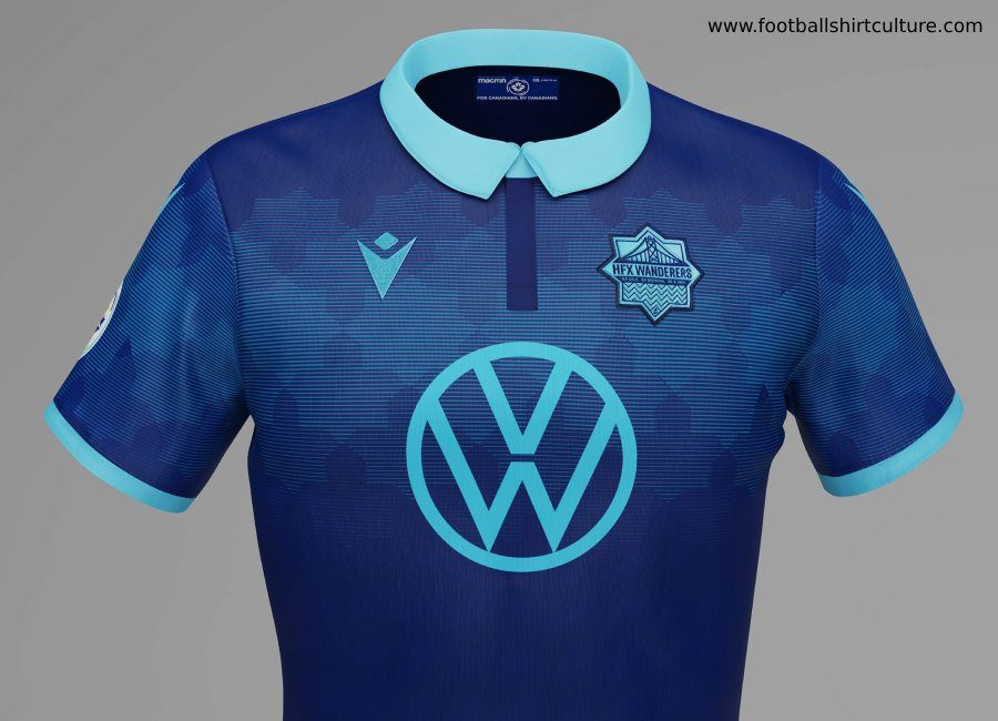 HFX Wanderers 2019 Macron Home Kit | Soccer uniforms design ...
