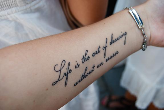 mooie tatoeage teksten