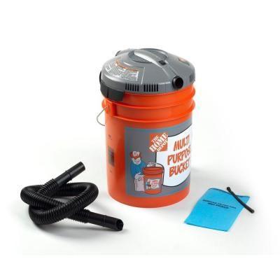 Bucket Head 5 Gal 1 75 Peak Hp Wet Dry Vac Bh0100 5
